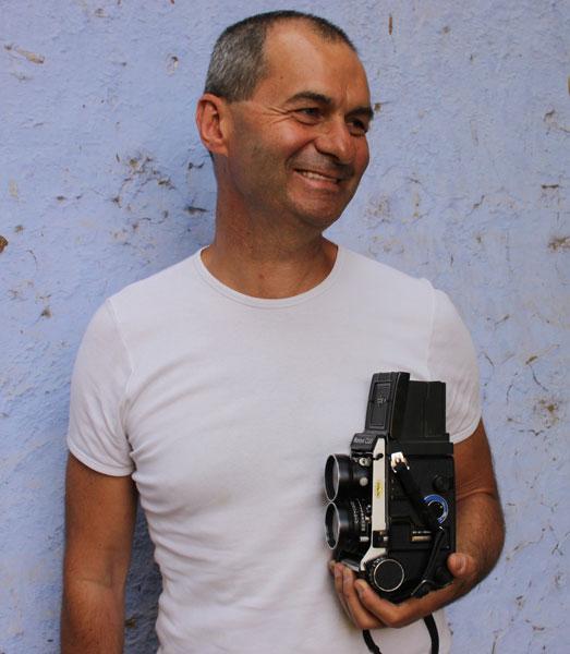 Photo portrait de Denis Dailleux